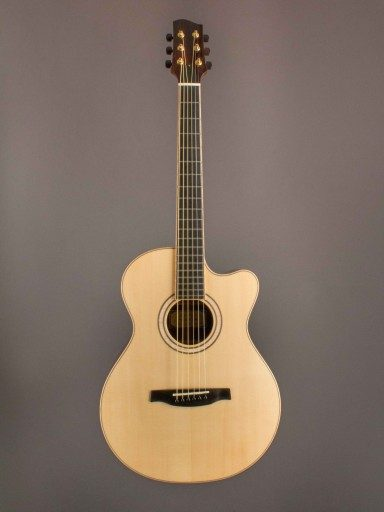 Sifel Creek Guitars 15 Inch Cutaway Acoustic Guitar