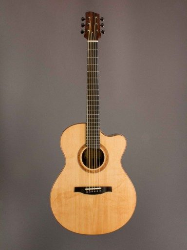 Sifel Creek Guitars 15.5 Inch Cutaway Acoustic Guitar
