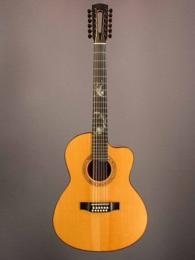 Manzer 12 String Acoustic Guitar