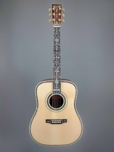 Brown Dreadnought Acoustic Guitar