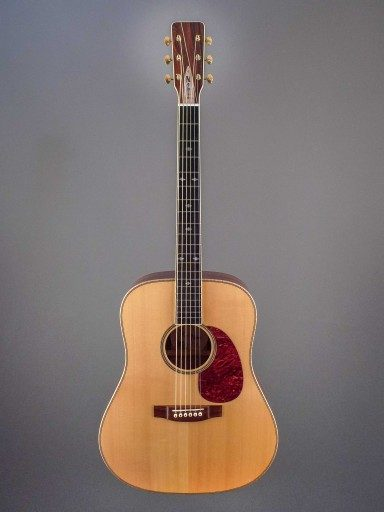Noble Custom Dreadnought Acoustic Guitar