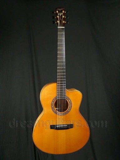 Manzer Guitars The Manzer Acoustic Guitar