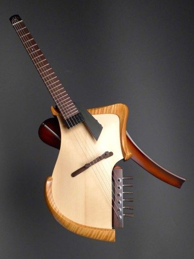 New Matsuda Deconstruction Figured Maple/Spruce