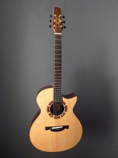 Gaffney Guitars OM Acoustic Guitar