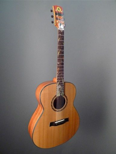 MacCubbin Guitars Orchestra Series - Heron Sunset Acoustic Guitar