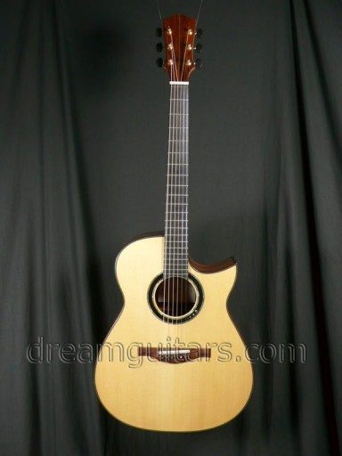 Hiro Ebata Guitars Modified D Acoustic Guitar