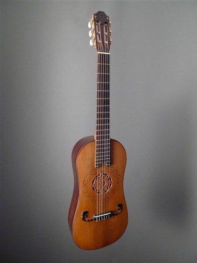 Rugiere Baroque Parlor Classical Guitar