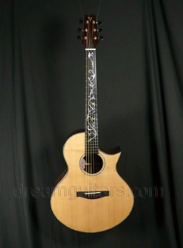 Tony Vines Guitars Bella Acoustic Guitar
