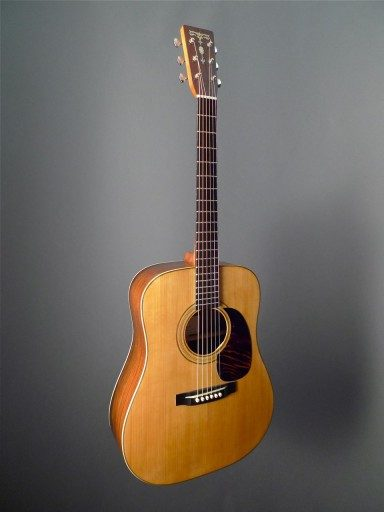 Brown D-28 Acoustic Guitar