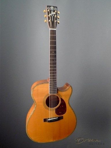 Randy Wood Guitars Custom 0000 Cutaway Acoustic Guitar
