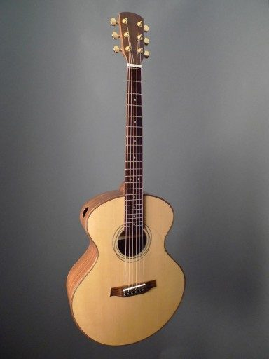 Dunwell Guitar Minstrel Double Top Acoustic Guitar