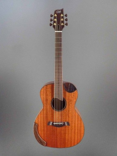 Woolson OM Custom Double Top Acoustic Guitar