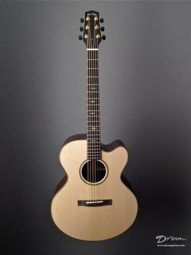 Huss & Dalton MJC Custom Acoustic Guitar