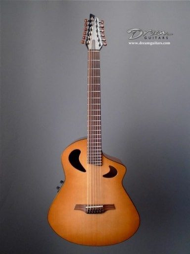 Veillette Guitars Baritone 12 String Acoustic Guitar