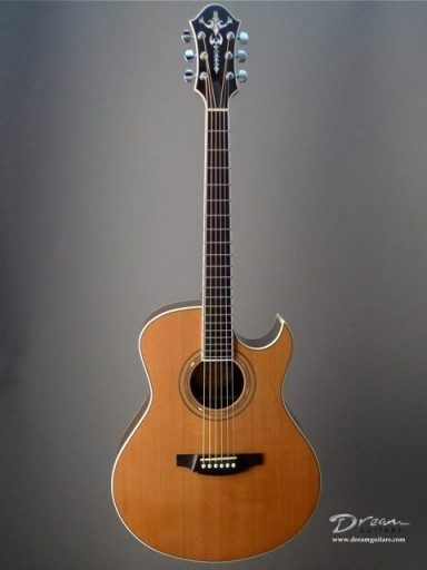 Michael Keller Guitars Jumbo Acoustic Guitar