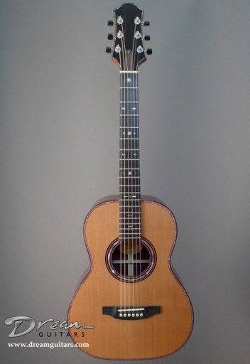 Michael Keller Guitars Parlor Acoustic Guitar