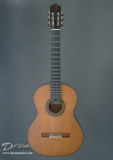 Contreras Guitars Double Top Classical Guitar