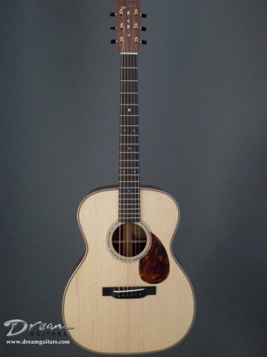Wildflower Custom Instruments, Leo Posch OM Acoustic Guitar