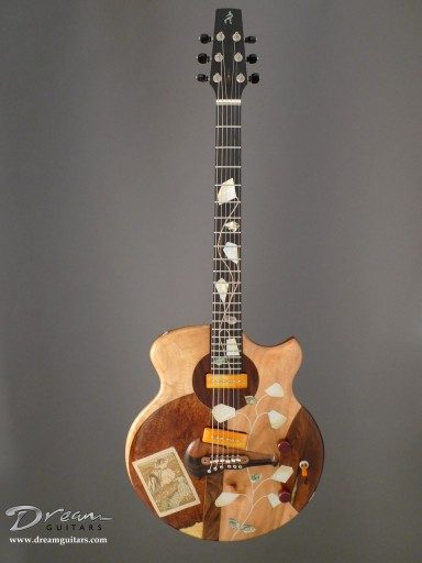 Spalt Instruments The Nouveau Series Pissarro In the Field Electric Guitar