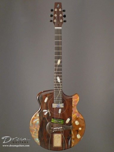 Spalt Instruments The Nouveau Series Mucha Summer Electric Guitar