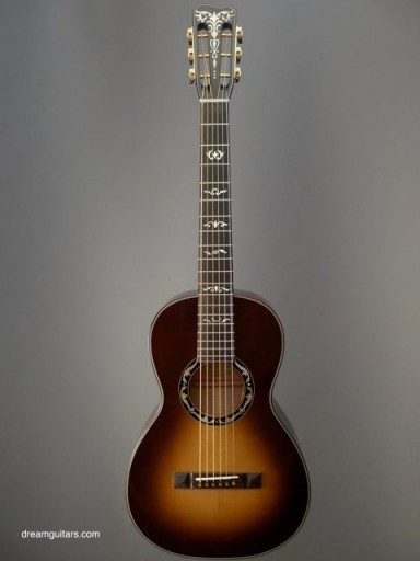 Stephen Kinnaird Guitars P1 Parlor Acoustic Guitar