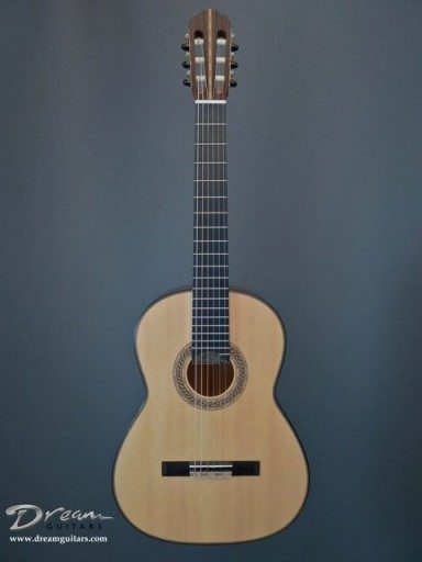Monrad Guitars Double Back Classical Guitar