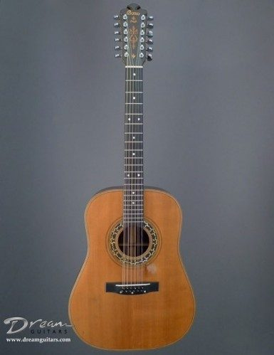 Bozo Guitars 12 String Acoustic Guitar