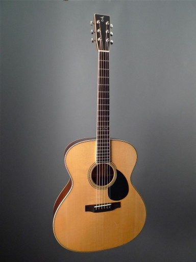 Franklin Guitars Jumbo Acoustic Guitar
