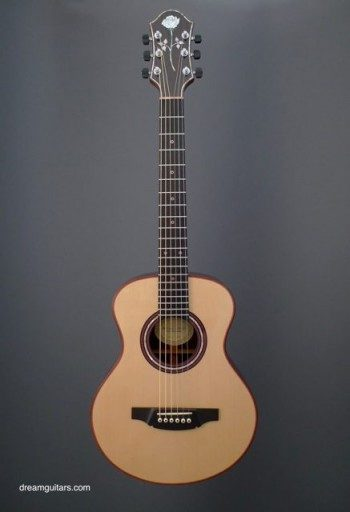 Michael Keller Guitars Baby/Half Size Acoustic Guitar