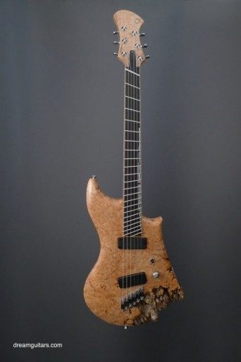 Novax Guitars Natural Electric Guitar