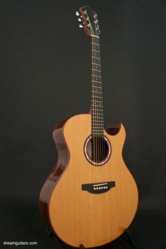Michael Keller Guitars 6 String Jumbo Acoustic Guitar