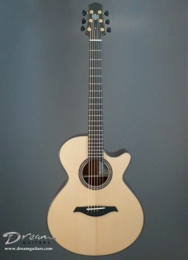 Berkowitz Guitars F6-CW Dream Series Acoustic Guitar