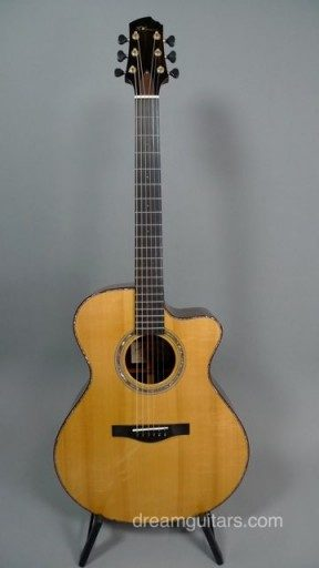 Kathy Wingert Guitars FVC Acoustic Guitar