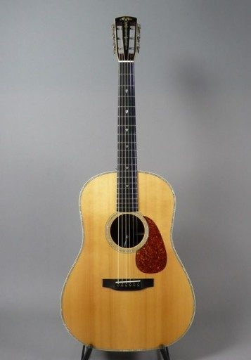 Tippin Guitars DST 12 Martin Simpson Acoustic Guitar