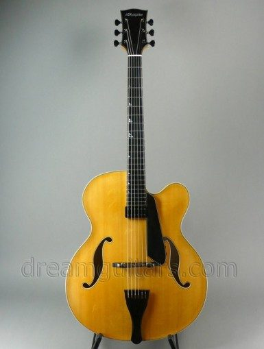 BCKingston Guitars CR-E Archtop Guitar