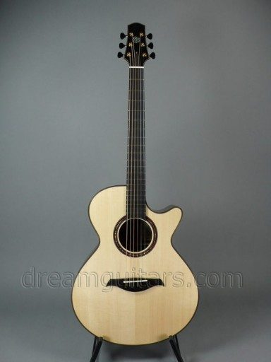 Berkowitz Guitars F-6 Concert Dream Series Acoustic Guitar