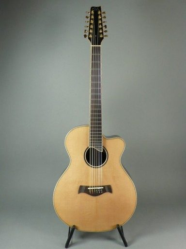 Woolson Soundcraft Signature 12 String Acoustic Guitar