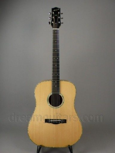 Haight Guitars Art Deco Dreadnaught Acoustic Guitar