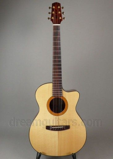 Mustapick Guitars GC Acoustic Guitar