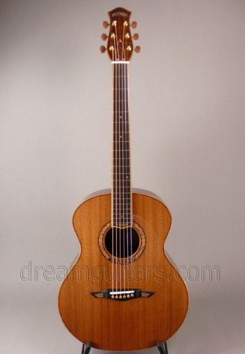 Petros Guitars Tunnel 13 Redwood #5 Acoustic Guitar