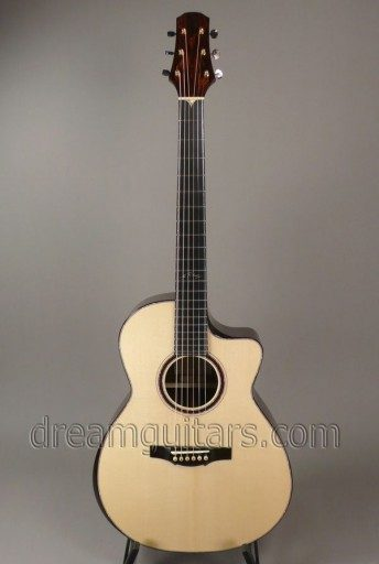 Tippin Guitars Crescendo_Al Petteway Series Acoustic Guitar