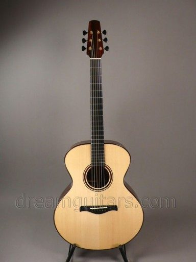 Jeff Traugott Guitars BK Acoustic Guitar