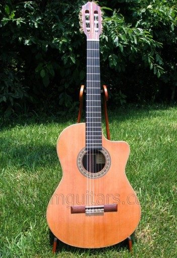Edward Victor Dick String Instruments Hybrid Classical Guitar