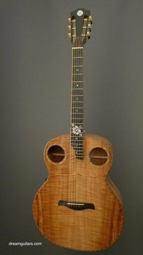 DeVine Guitars Slack Key Acoustic Guitar