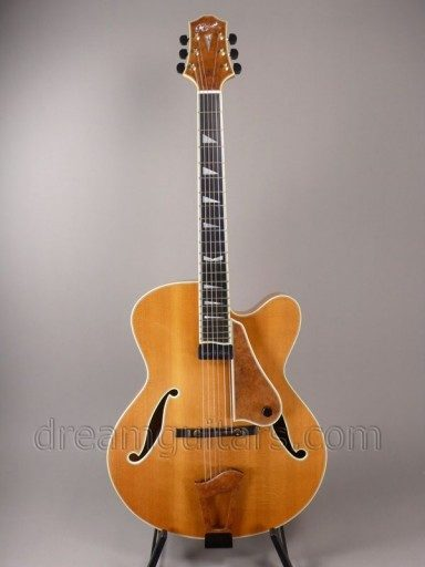 Ribbecke Guitars Monterey Archtop Archtop Guitar