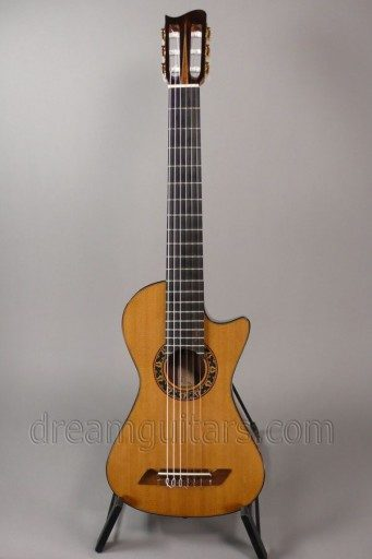 Boaz Guitars Nylon String Travel Classical Guitar