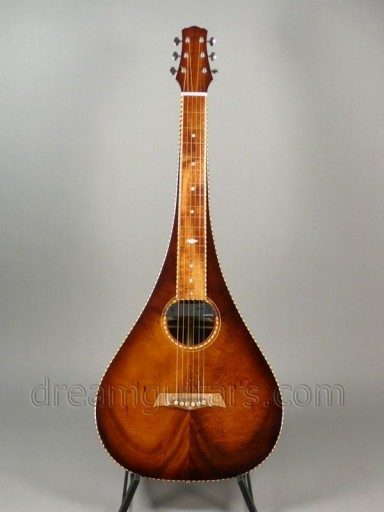 Asher Guitars & Lap Steels Weissenborn Style 3 Teardrop Acoustic Guitar