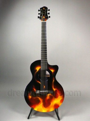 Schenk Guitars GK Tru-Fire Acoustic Guitar