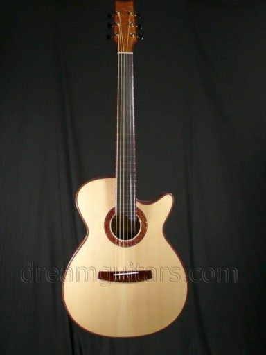 Charles Fox Guitars Ergo Blanc GC-14 Acoustic Guitar