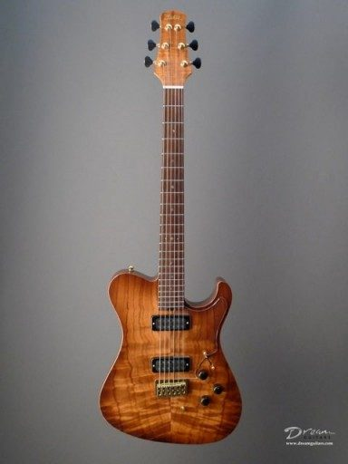 Asher Guitars & Lap Steels Ultratone SC Deluxe Edition Electric Guitar